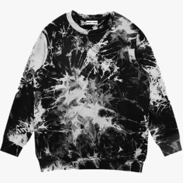 Mycelium Aesthetic Tie Dye Sweatshirt 1 - Orezoria Aesthetic Outfits Shop - Aesthetic Clothing - eGirl Outfits - Soft Girl Outfits