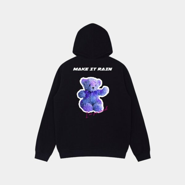 Neon Blue Vaporwave Bear Hoodie 1 - Orezoria Aesthetic Outfits Shop - Aesthetic Clothing - eGirl Outfits - Soft Girl Outfits.psd