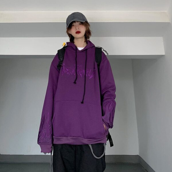 Neon Genesis Oversized Korean Hoodie 4 - Orezoria Aesthetic Outfits Shop - Aesthetic Clothing - eGirl Outfits - Soft Girl Outfits