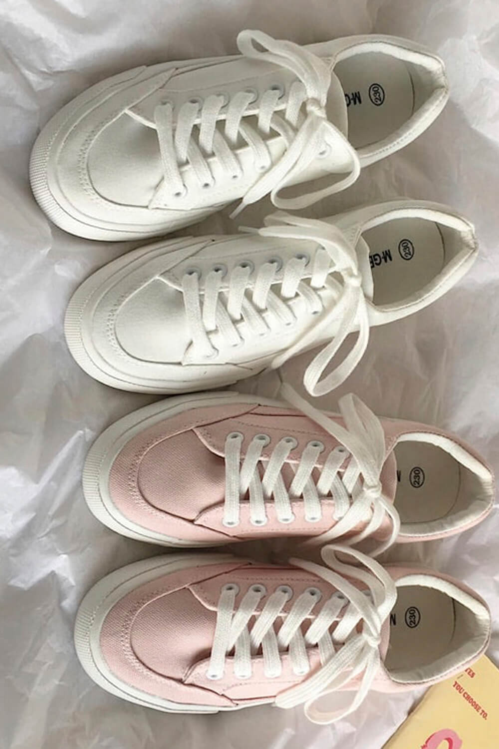 Normcore Aesthetic Canvas Sneakers