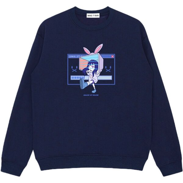 Ongoing Loading Cute Vaporwave Sweatshirt 2 - Orezoria Aesthetic Outfits Shop - Aesthetic Clothing - eGirl Outfits - Soft Girl Outfits