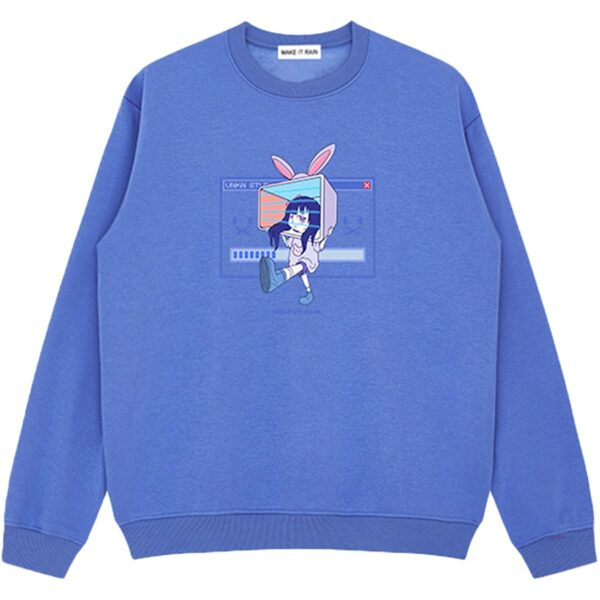 Ongoing Loading Cute Vaporwave Sweatshirt 3 - Orezoria Aesthetic Outfits Shop - Aesthetic Clothing - eGirl Outfits - Soft Girl Outfits