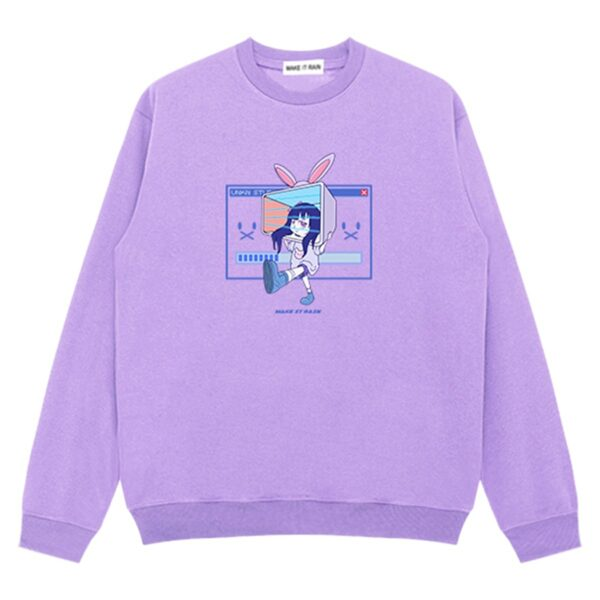 Ongoing Loading Cute Vaporwave Sweatshirt 4 - Orezoria Aesthetic Outfits Shop - Aesthetic Clothing - eGirl Outfits - Soft Girl Outfits