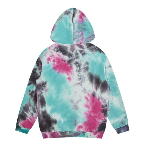 Outer Worlds Tie Dye Skater Hoodie 3- Orezoria Aesthetic Outfits Shop - Aesthetic Clothing - eGirl Outfits - Soft Girl Outfits