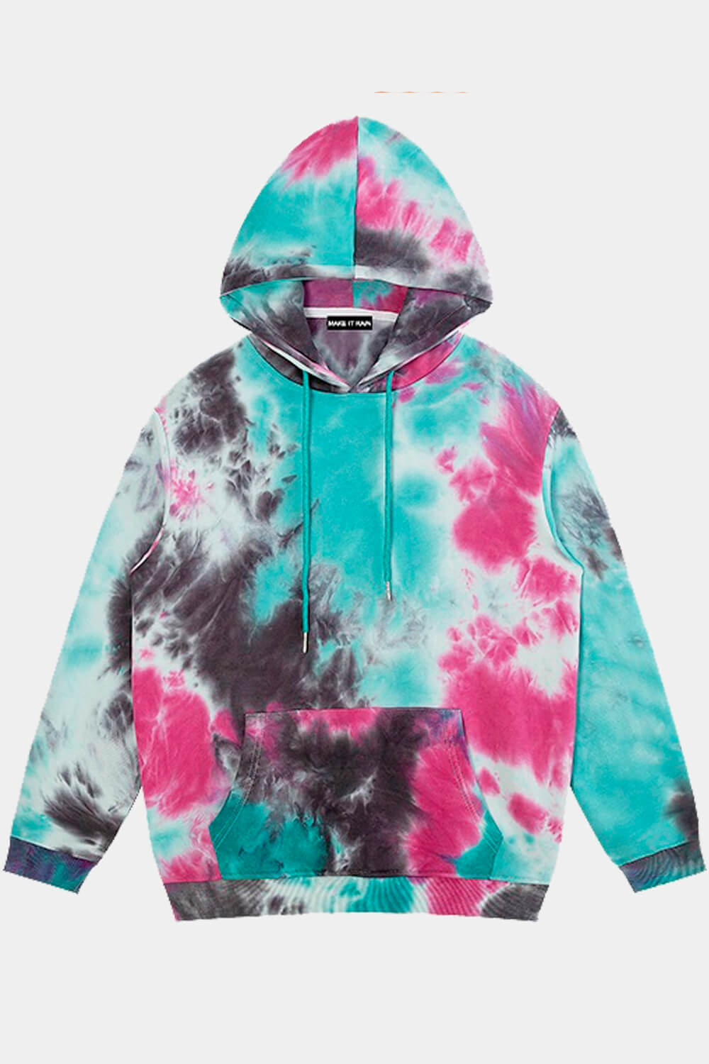 Outer Worlds Tie Dye Skater Hoodie