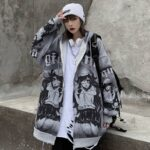 Oversized Anime Heart Hoodie.1- Orezoria Aesthetic Outfits Shop - Aesthetic Clothing - eGirl Outfits - Soft Girl Outfits