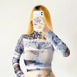 Pierced Last Comic Book Crop Top 2- Orezoria Aesthetic Outfits Shop - Aesthetic Clothing - eGirl Outfits - Soft Girl Outfits