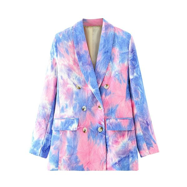 Pink and Blue Eternal Te Dye Jacket 5- Orezoria Aesthetic Outfits Shop - Aesthetic Clothing - eGirl Outfits - Soft Girl Outfits