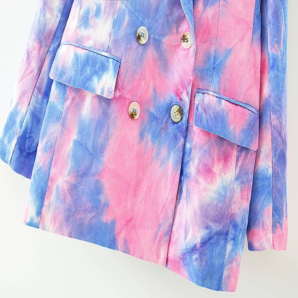 Pink and Blue Eternal Te Dye Jacket 6- Orezoria Aesthetic Outfits Shop - Aesthetic Clothing - eGirl Outfits - Soft Girl Outfits