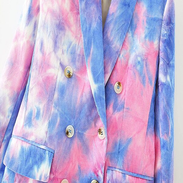 Pink and Blue Eternal Te Dye Jacket 7- Orezoria Aesthetic Outfits Shop - Aesthetic Clothing - eGirl Outfits - Soft Girl Outfits