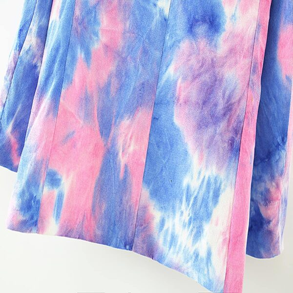 Pink and Blue Eternal Te Dye Jacket 8- Orezoria Aesthetic Outfits Shop - Aesthetic Clothing - eGirl Outfits - Soft Girl Outfits