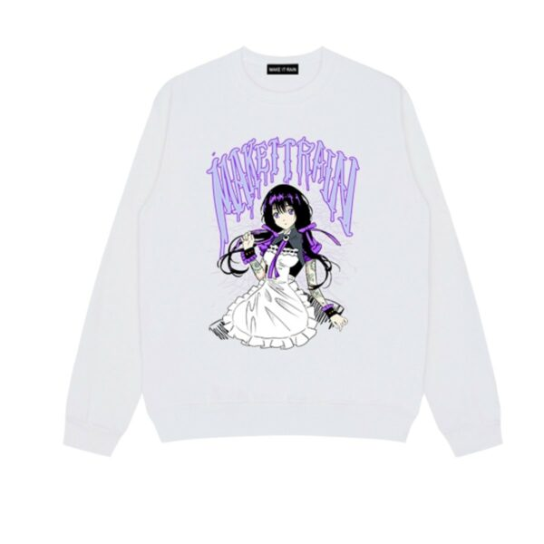 Purple Assassin Anime Girl Sweatshirt - Orezoria Aesthetic Outfits Shop - Aesthetic Clothing - eGirl Outfits - Soft Girl Outfits.psd
