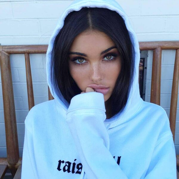 Raise Hell Quote Aesthetic Hoodie (2)- Orezoria Aesthetic Outfits Shop - Aesthetic Clothing - eGirl Outfits - Soft Girl Outfits