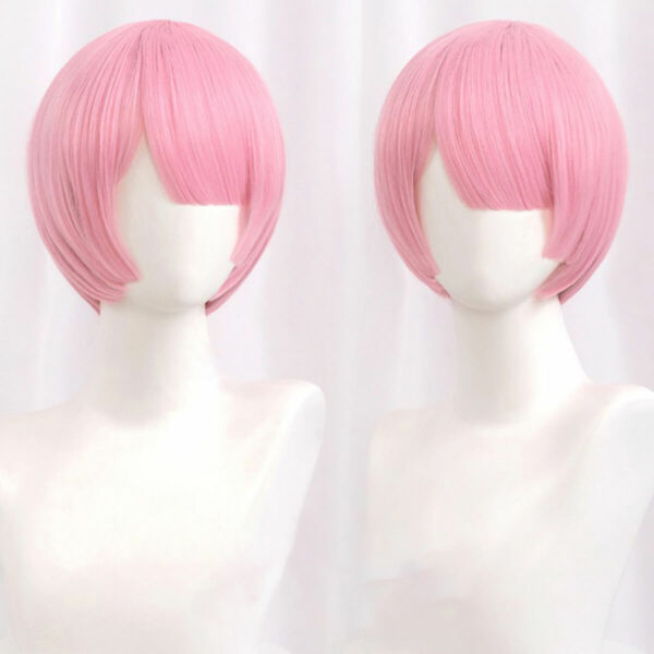 Re Zero Rem and Ram Cosplay Wig Anime Aesthetic (2)- Orezoria Aesthetic Outfits Shop - Aesthetic Clothing - eGirl Outfits - Soft Girl Outfits