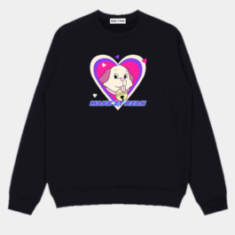 Retro Cartoon Dog Puppy Sweatshirt 1- Orezoria Aesthetic Outfits Shop - Aesthetic Clothing - eGirl Outfits - Soft Girl Outfits