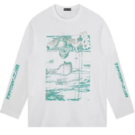 Retro Glitch Core Aesthetic Sweatshirt 2 - Orezoria Aesthetic Outfits Shop - Aesthetic Clothing - eGirl Outfits - Soft Girl Outfits