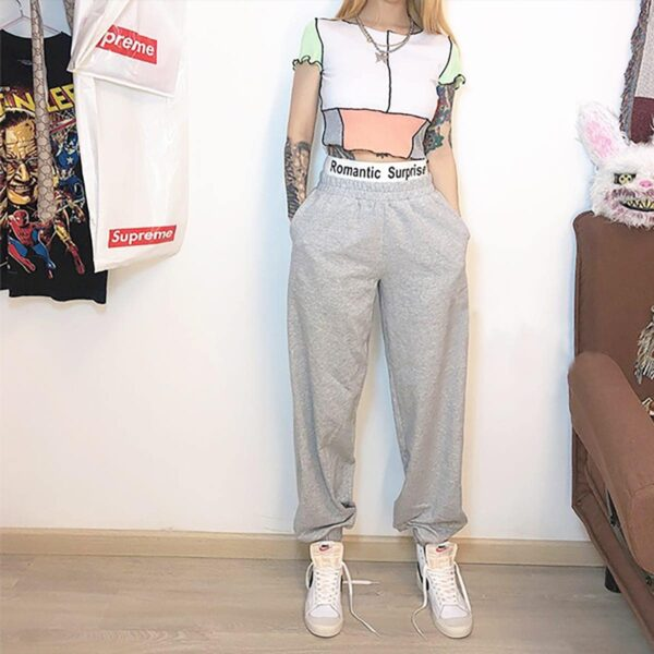 Romantic Surprise Ribbon Loose Pants 4- Orezoria Aesthetic Outfits Shop - Aesthetic Clothing - eGirl Outfits - Soft Girl Outfits