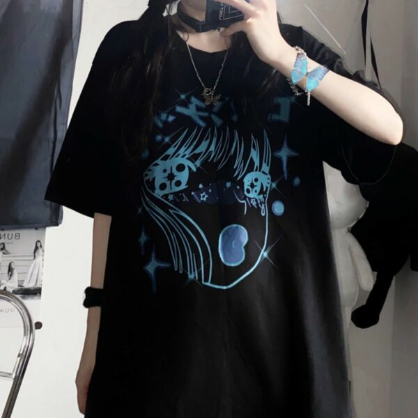 Sacred Tears Anime Aesthetic T-Shirt.1- Orezoria Aesthetic Outfits Shop - Aesthetic Clothing - eGirl Outfits - Soft Girl Outfits