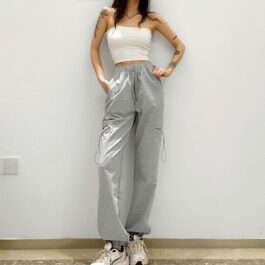 Side Pocket Casual Sport Pants 4 - Orezoria Aesthetic Outfits Shop - Aesthetic Clothing - eGirl Outfits - Soft Girl Outfits.psd