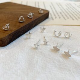 Small Aesthetic Earrings Set Korean Style 3- Orezoria Aesthetic Outfits Shop - Aesthetic Clothing - eGirl Outfits - Soft Girl Outfits (3)