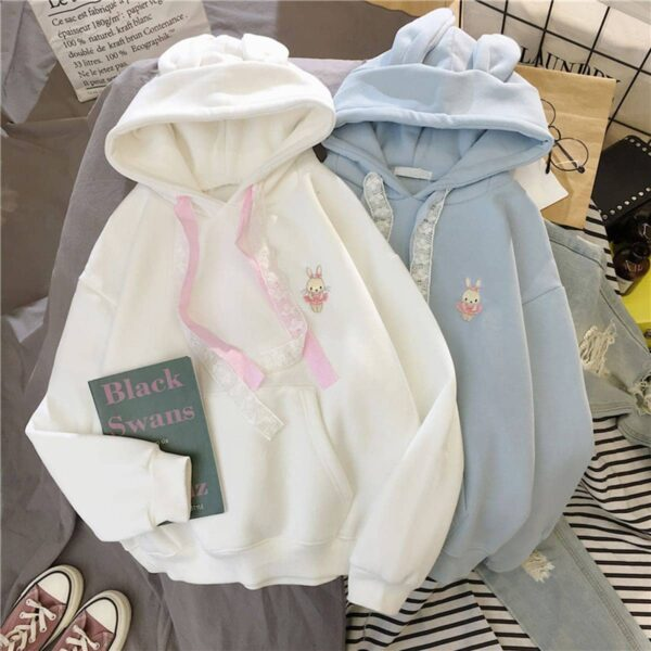 Soft Girl Cute Hoodie Bunny Embroidery 2 - Orezoria Aesthetic Outfits Shop - Aesthetic Clothing - eGirl Outfits - Soft Girl Outfits.psd