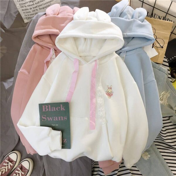Soft Girl Cute Hoodie Bunny Embroidery 4 - Orezoria Aesthetic Outfits Shop - Aesthetic Clothing - eGirl Outfits - Soft Girl Outfits.psd