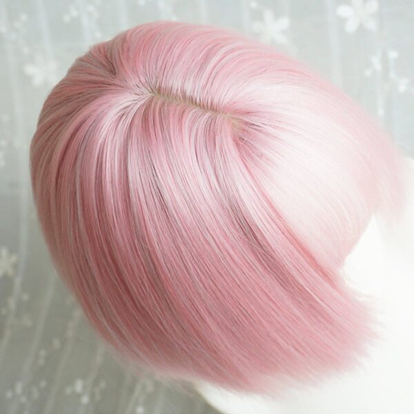 Straight Bob Colored Hair EGirl Wig 1- Orezoria Aesthetic Outfits Shop - Aesthetic Clothing - eGirl Outfits - Soft Girl Outfits (2)