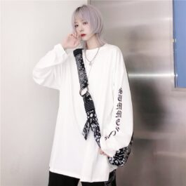 Summer Sleeve Loose Korean Long Sleeve 1- Orezoria Aesthetic Outfits Shop - Aesthetic Clothing - eGirl Outfits - Soft Girl Outfits