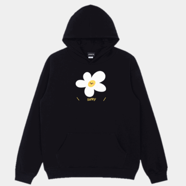 Sunny Cute Flower Hoodie Kawaii Aesthetic 1- Orezoria Aesthetic Outfits Shop - Aesthetic Clothing - eGirl Outfits - Soft Girl Outfits