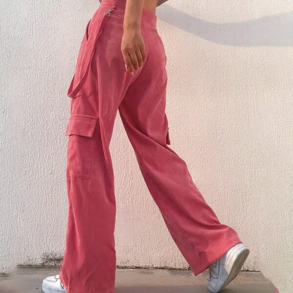 Super WIde Y2K Aesthetic Corduroy Pants - Orezoria Aesthetic Outfits Shop - Aesthetic Clothing - eGirl Outfits - Soft Girl Outfits.psd