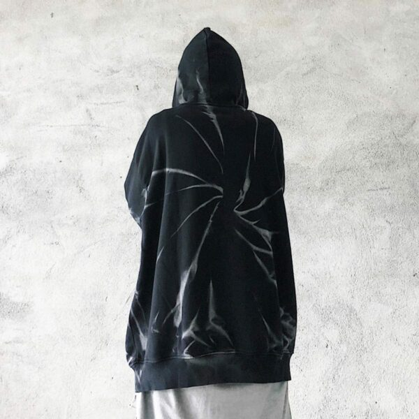 Tie Dye Spiral Dark Core Unisex Hoodie 4- Orezoria Aesthetic Outfits Shop - Aesthetic Clothing - eGirl Outfits - Soft Girl Outfits