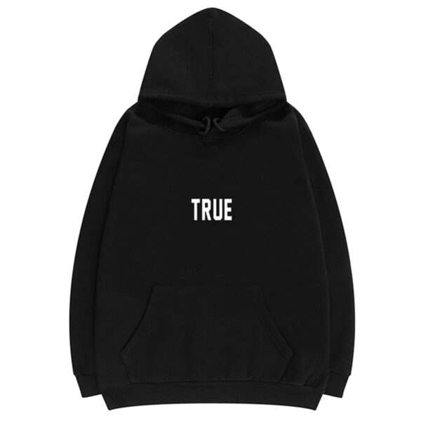 True Letters Print TikTok Aesthetic Hoodie (2)- Orezoria Aesthetic Outfits Shop - Aesthetic Clothing - eGirl Outfits - Soft Girl Outfits