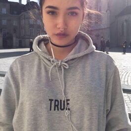 True Letters Print TikTok Aesthetic Hoodie (5)- Orezoria Aesthetic Outfits Shop - Aesthetic Clothing - eGirl Outfits - Soft Girl Outfits