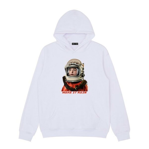 USSR Retro Сosmonaut Hoodie 2- Orezoria Aesthetic Outfits Shop - Aesthetic Clothing - eGirl Outfits - Soft Girl Outfits