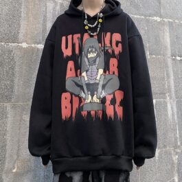 Uchiha Itachi Shinobi Unisex Hoodie 1- Orezoria Aesthetic Outfits Shop - Aesthetic Clothing - eGirl Outfits - Soft Girl Outfits