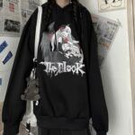 Vampire Anime Girl Oversized Hoodie 2 - Orezoria Aesthetic Outfits Shop - Aesthetic Clothing - eGirl Outfits - Soft Girl Outfits.psd