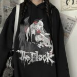 Vampire Anime Girl Oversized Hoodie 4 - Orezoria Aesthetic Outfits Shop - Aesthetic Clothing - eGirl Outfits - Soft Girl Outfits.psd