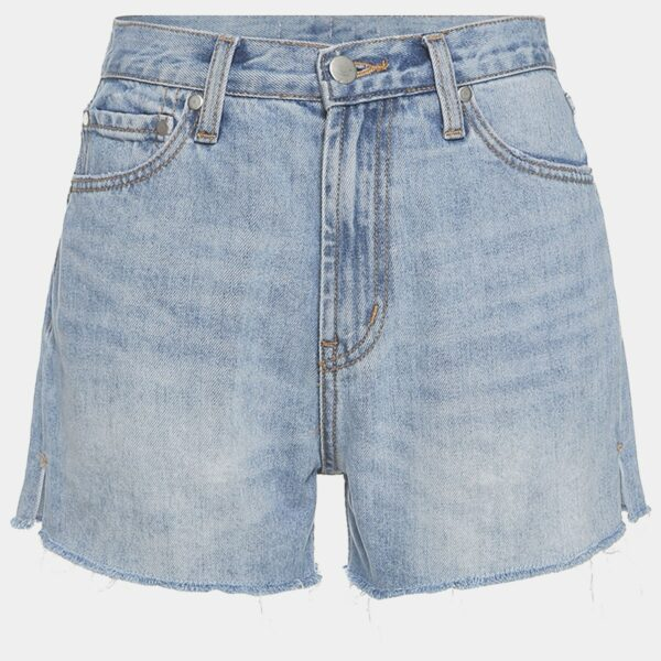 Washed Denim High Waisted Shorts 22 - Orezoria Aesthetic Outfits Shop - Aesthetic Clothing - eGirl Outfits - Soft Girl Outfits.psd