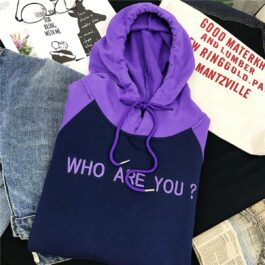 Who Are You Purple Raglan Hoodie 2 - Orezoria Aesthetic Outfits Shop - Aesthetic Clothing - eGirl Outfits - Soft Girl Outfits.psd