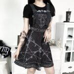 Witchcraft Aesthetic Suspender Dress 2- Orezoria Aesthetic Outfits Shop - Aesthetic Clothing - eGirl Outfits - Soft Girl Outfits