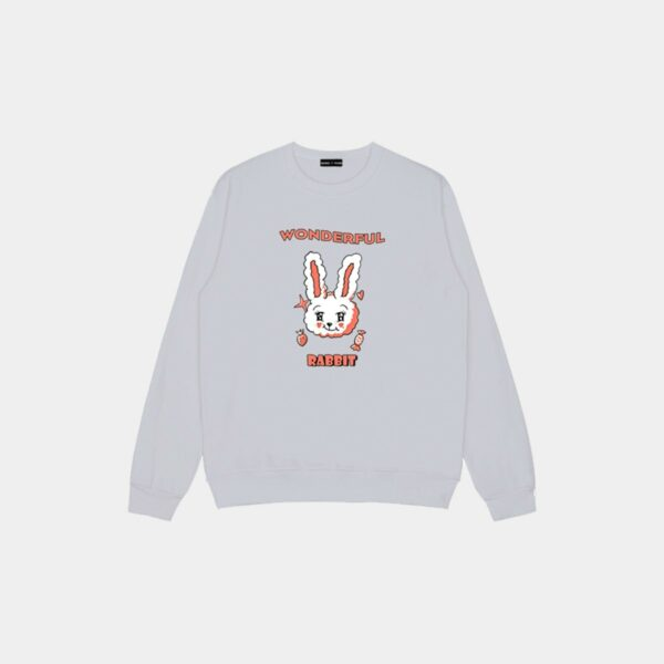 Wonderful Rabbit Cute Loose Sweatshirt 33 - Orezoria Aesthetic Outfits Shop - Aesthetic Clothing - eGirl Outfits - Soft Girl Outfits.psd