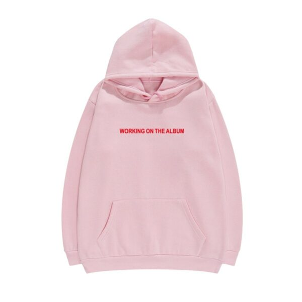Working on the Album Music Core Hoodie - Orezoria Aesthetic Outfits Shop - Aesthetic Clothing - eGirl Outfits - Soft Girl Outfits.psd