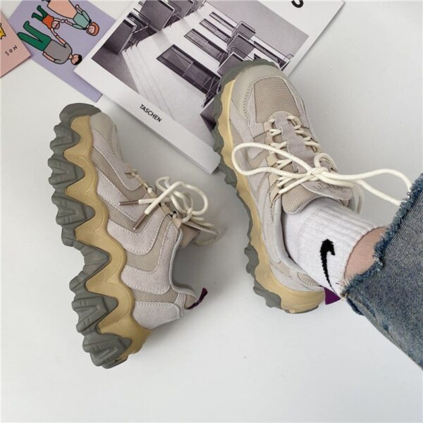 Y2K Aesthetic Korean Retro Sneakers - Orezoria Aesthetic Outfits Shop - Aesthetic Clothing - eGirl Outfits - Soft Girl Outfits.psd