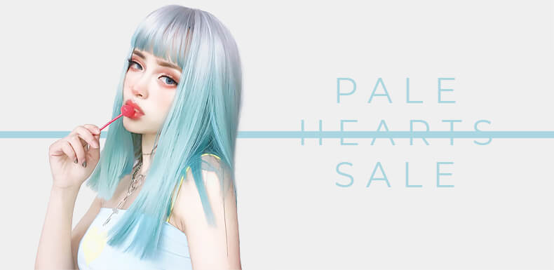 Pale Hearts Sale Discounts Orezoria Shop Aesthetic Outfits EGirl Outfits Aesthetic Clothing