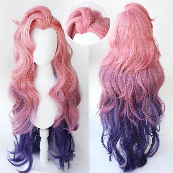 Seraphine Wig Pink League of Legends Cosplay LOL - Aesthetic Clothes, EGirl Outfits - Orezoria Shop