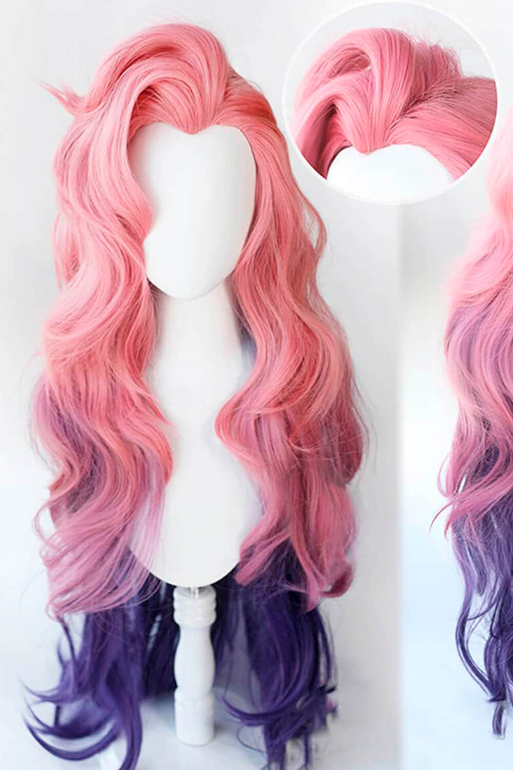 Seraphine Wig Pink League of Legends Cosplay LOL
