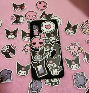 Kuromi Stickers Set Onegai My Melody photo review