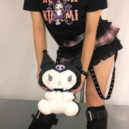 Kuromi Plush Toy Onegai My Melody