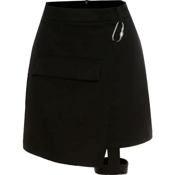 Leg Strap Black Aesthetic EGirl Skirt