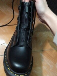 Martens Boots Front Laces Replacer Zipper 8 Holes photo review